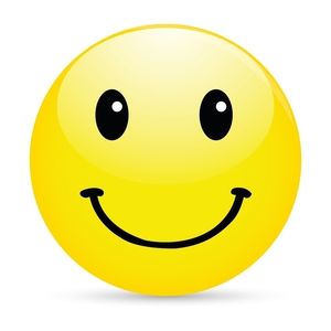 Square smiley face