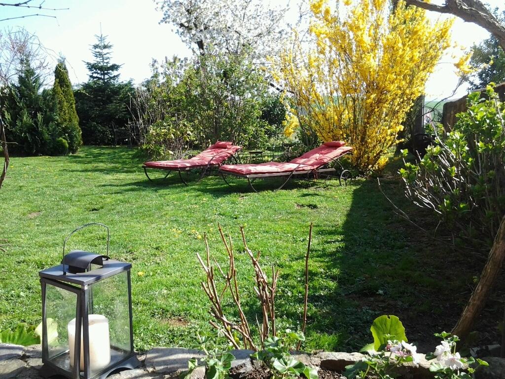 Le clos du merle petite maison d 39 h tes en coteaux du for Jardin couvert lyon