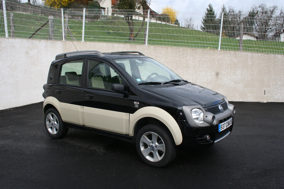 fiat panda 4x4 cross annonce sur sideplace. Black Bedroom Furniture Sets. Home Design Ideas