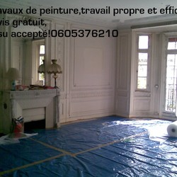 Square travaux chantier propre
