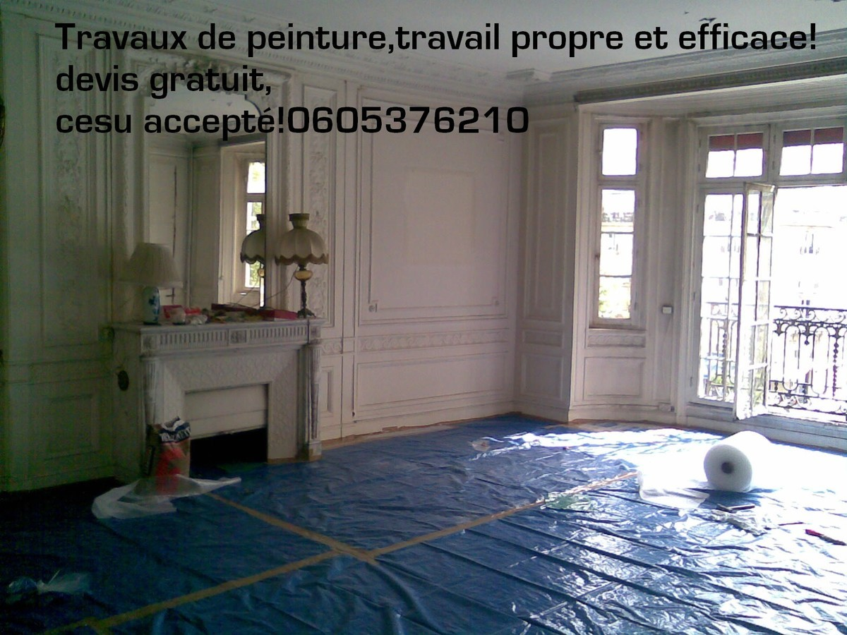 Travaux chantier propre